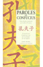 PAROLES DE CONFUCIUS