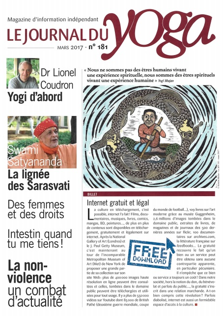 LE JOURNAL DU YOGA #181