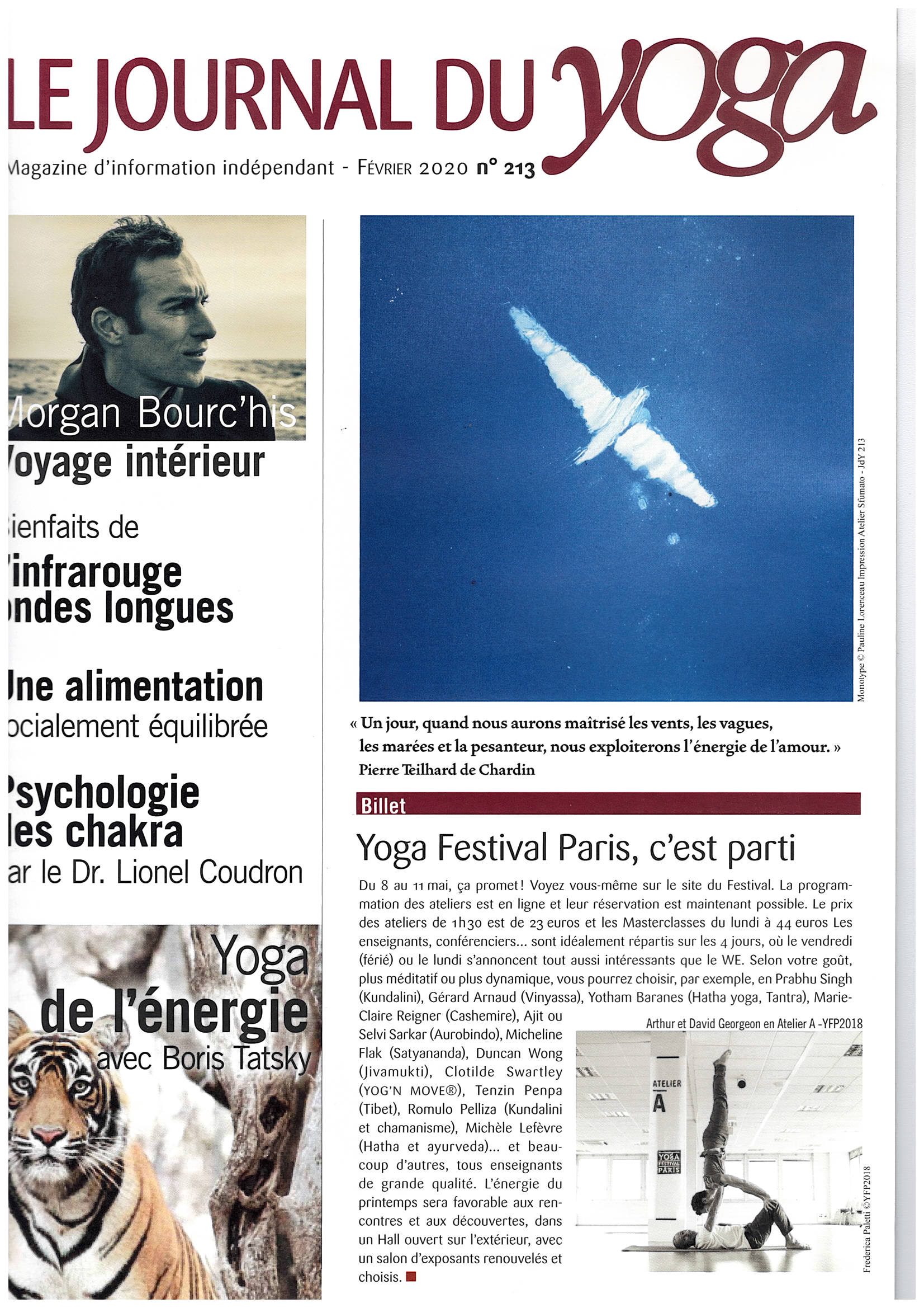 LE JOURNAL DU YOGA#213